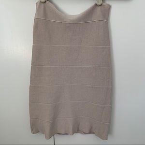 Bebe Bodycon Bandage Skirt